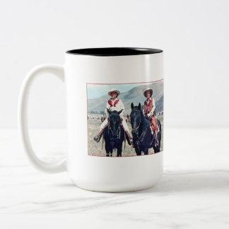 The Brass Sisters Two-Tone Coffee Mug