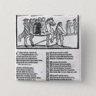 The Brave English Gypsy' Pinback Button