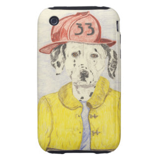 The Brave Fire Fighter iPhone 3 Tough Cover