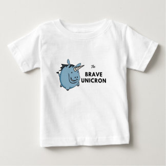 The Brave Unicorn Baby T-Shirt