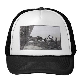 The Bravery of Martincho in the Ring of Saragassa Trucker Hat