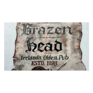 The Brazen Head pub, Dublin, Ireland Business Cards