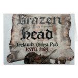 The Brazen Head pub, Dublin, Ireland Card