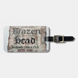 The Brazen Head pub, Dublin, Ireland Travel Bag Tag