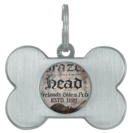 The Brazen Head pub, Dublin, Ireland Pet ID Tags