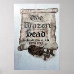 The Brazen Head pub, Dublin, Ireland Print