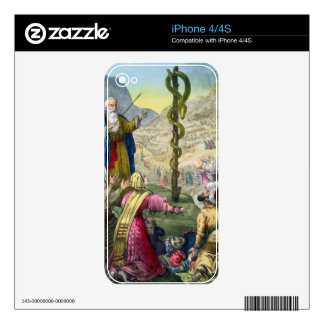 The Brazen Serpent, from a bible printed by Edward Decal For The iPhone 4