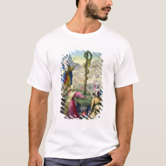 The Brazen Serpent, from a bible printed by Edward T-Shirt