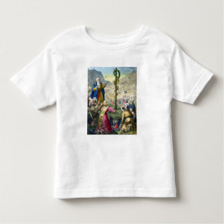 The Brazen Serpent, from a bible printed by Edward Toddler T-shirt