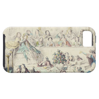 The Breach of Promise - cartoon hand coloured etch iPhone 5 Cases