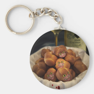 The Bread Rolls Are Waiting Keychain