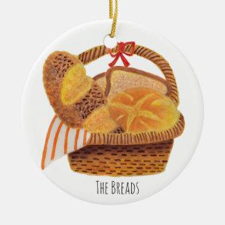 The Breads Ceramic Ornament