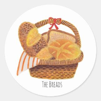 The Breads Classic Round Sticker