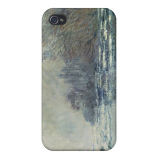 The Break up at Vetheuil, c.1883 iPhone 4 Covers