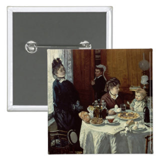 The Breakfast, 1868 (oil on canvas) Button