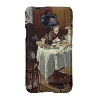 The Breakfast, 1868 (oil on canvas) Samsung Galaxy S2 Cases