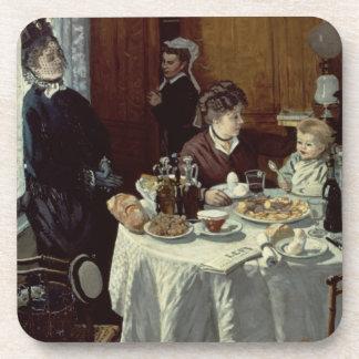 The Breakfast, 1868 (oil on canvas) Coaster