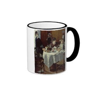 The Breakfast, 1868 (oil on canvas) Mug