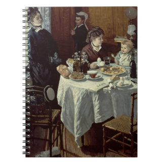 The Breakfast, 1868 (oil on canvas) Note Books