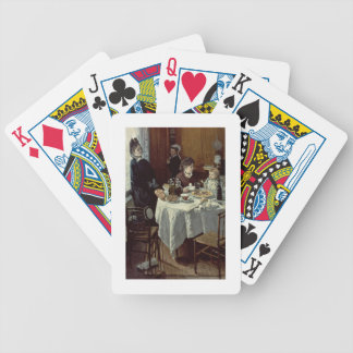 The Breakfast, 1868 (oil on canvas) Bicycle Poker Deck