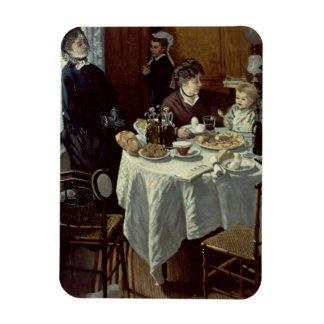 The Breakfast, 1868 (oil on canvas) Flexible Magnets