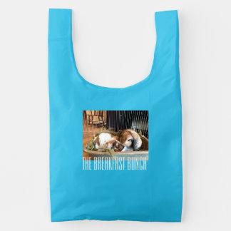 The Breakfast Bunch Reusable Tote Reusable Bag