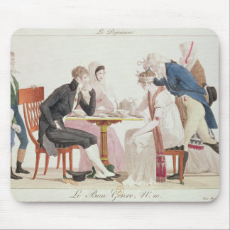 The Breakfast, from 'Bon Genre' Mouse Pad