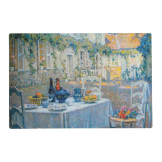 The Breakfast Table (Le Dejeuner) Placemat