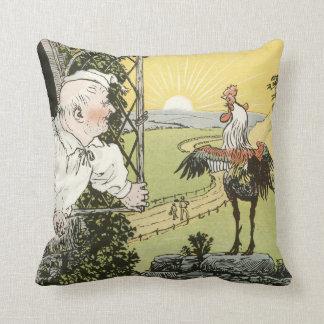 The Breaking Dawn, by Randolph Caldecott Throw Pillow