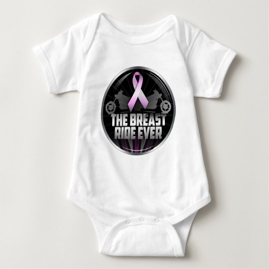 The Breast Ride Ever Baby Bodysuit