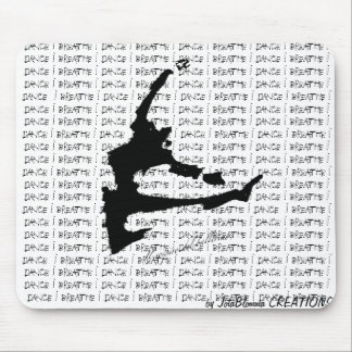 The Breath of the Dancer Mousepad