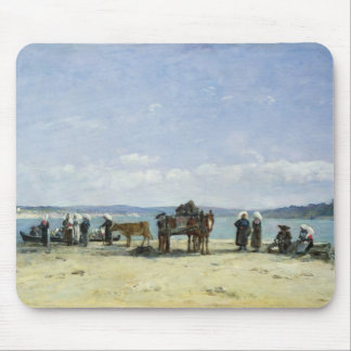 The Breton Fishermen's Wives, 1870-73 (oil on pane Mouse Pad