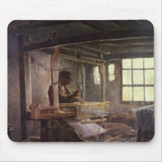 The Breton Weaver, 1888 Mouse Pad