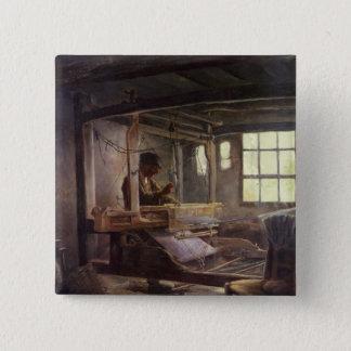 The Breton Weaver, 1888 Pinback Button