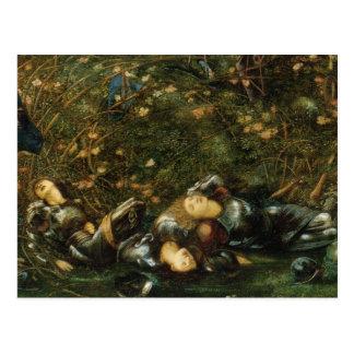 The Briar Rose in The Briar Wood Postcard
