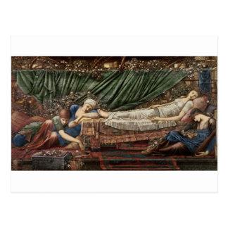 'The Briar Rose' Series, 4: The Sleeping Beauty, 1 Postcard