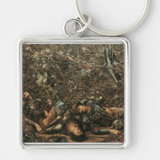 The Briar Rose - The Prince enters the Briar Wood Keychain
