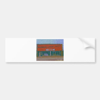 the brick painting by hart bumper stickers
