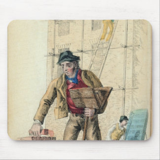 The Bricklayer's Labourer Mouse Pad