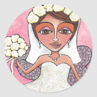 The Bridal Fairy & Roses - stickers