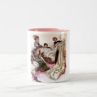 The Bridal Gown Two-Tone Coffee Mug
