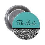The Bride 2 Inch Round Button