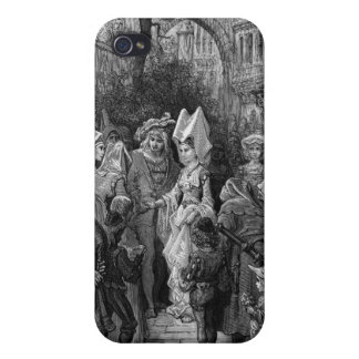 The Bride and Groom entering the hall iPhone 4 Cover