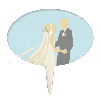 The Bride and Groom's Wedding Dance Cake Topper