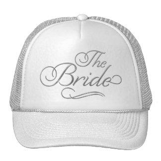 The Bride Baseball Hat Silver