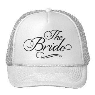 The Bride Baseball Hat White
