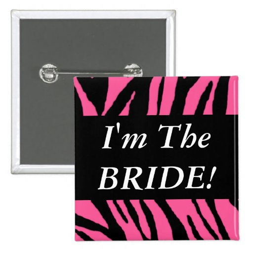 The Bride Pinback Buttons
