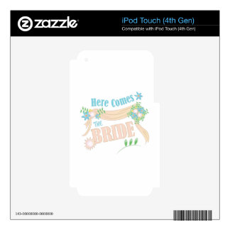 The Bride Decals For iPod Touch 4G