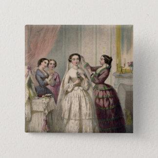 The Bride, engraved by J. Battannier, 1852-53 Button