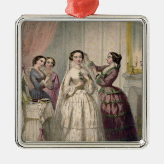 The Bride, engraved by J. Battannier, 1852-53 Christmas Tree Ornaments